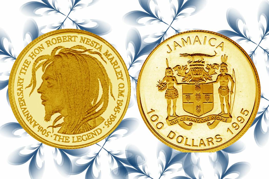 Bob Marley Gold Coin