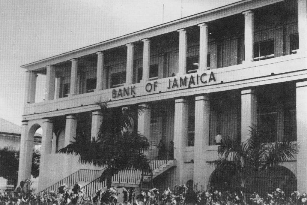 Bank of Jamaica Building 1961-1975