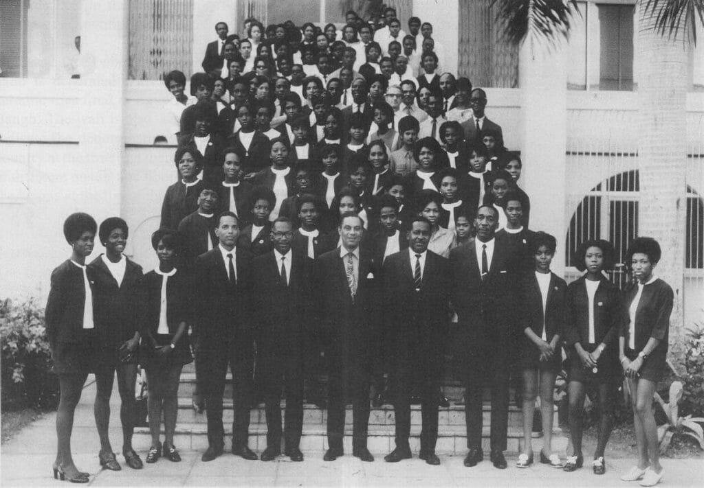 BOJ Staff Members 1970