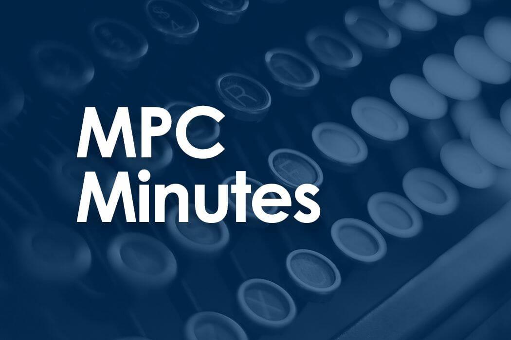 MPC Minutes